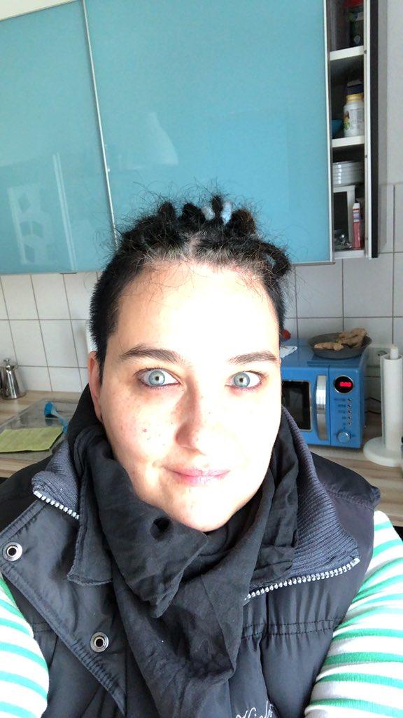 Selfie, Nahaufname in der Küche